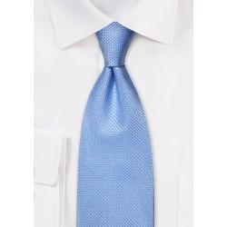 Hydrangea Blue Tie made from Pure Silk