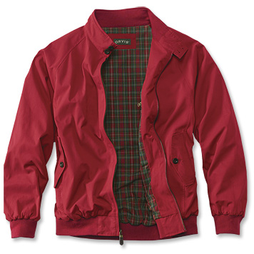 Orivs Red Harrington Jacket