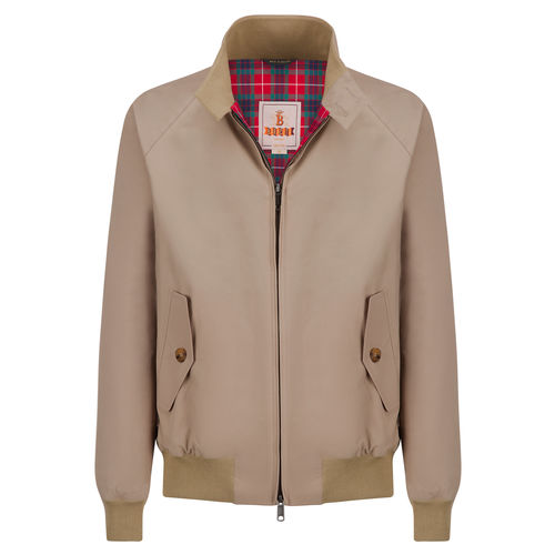 Baracuta Classic Tan Harrington Jacket