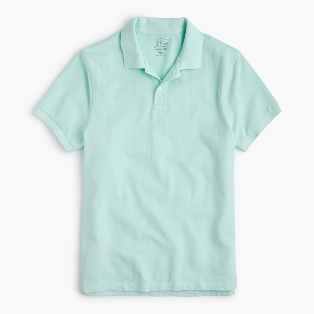 Seamist Mens Classic Polo Shirt from J. Crew
