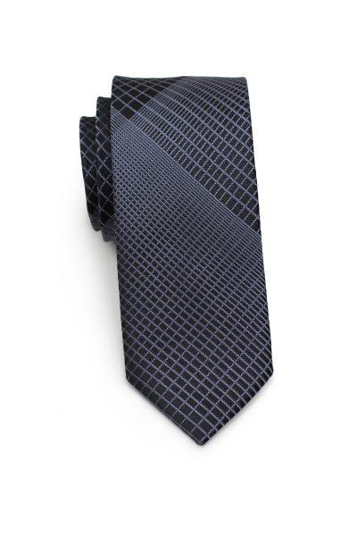 Modern Grey and Black Tie