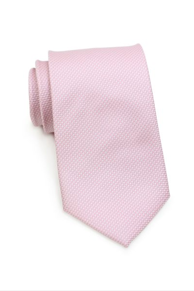 Light Rose Pink Grenadine Tie